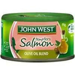 John West Salmon Tempter Olive Oil  95g