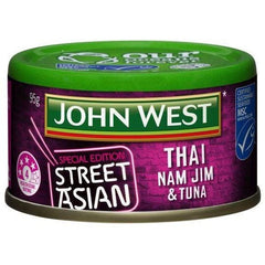 John West Street Asian Tuna Thai Nam Jim St  95g