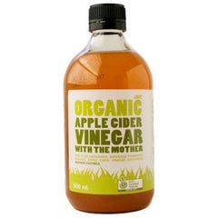 Just Organic Apple Cider Vinegar with The Mother 500ml