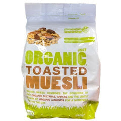 Just Organic Toasted Muesli 500g