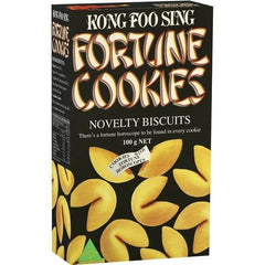 Kong Foo Sing Snacks Fortune Cookies 100g