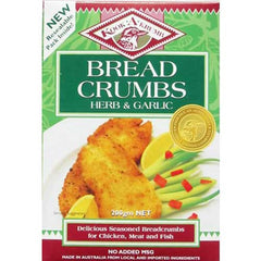 Kookakrumb Breadcrumbs Herb And Garlic  200g
