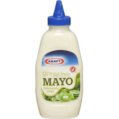Kraft Mayonnaise Fat Free Squeeze  540g