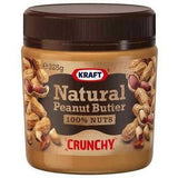 Kraft Natural Crunchy Peanut Butter  325g