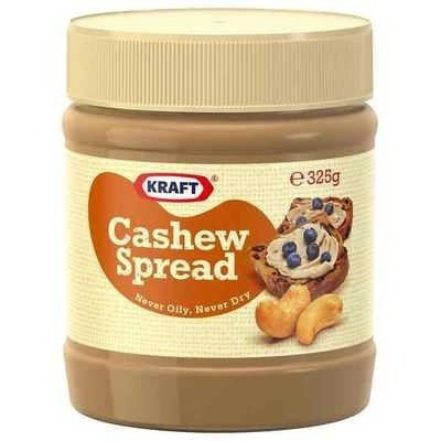 Kraft Smooth Cashew Spread  325g
