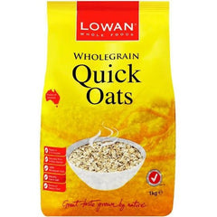 Lowan Quick Whole Grain Oats  1kg