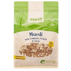 Macro Muesli Maple Almond  750g