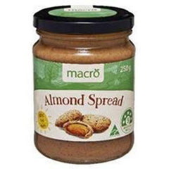 Macro Natural Almond Spread 250g