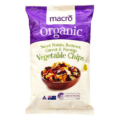 Macro Organic Chips Mixed Vegetable 70g