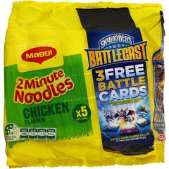 Maggi 2 Minute Noodles Chicken 99% Fat Free  5pk x 69g