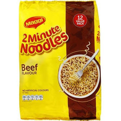 Maggi Beef 2 Minute Noodles Value Pack 12pk 888g