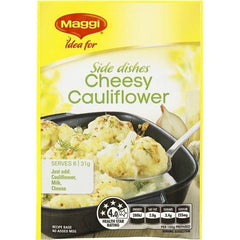 Maggi Cheesy Cauliflower Vegetable Side Recipe Base 31g
