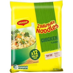 Maggi Chicken 2 Minute Noodle Value Pack 12pk x 72g