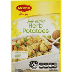 Maggi Herb Potatoes Vegetable Side Recipe Base 38g