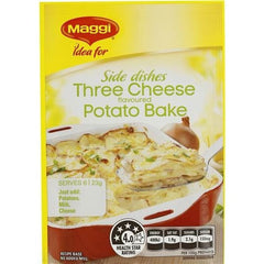 Maggi Three Cheese Potato Bake Vegetable Side Recipe Base 23g