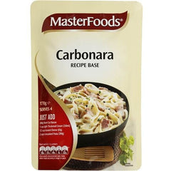 Masterfoods Carbonara Recipe Base  170g