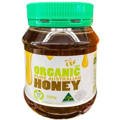 Organic Pure Australian Honey 500g