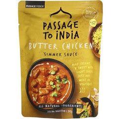 Passage To India Simmer Sauce Butter Chicken  375g