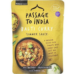 Passage To India Simmer Sauce Curry Balti  375g