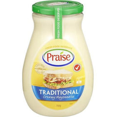 Praise Mayonnaise Traditional Creamy  700g