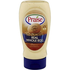 Praise Whole Egg Mayonnaise Mayonnaise  335g