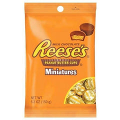 Reese's Milk Chocolate Peanut Butter Cups Miniatures  150g