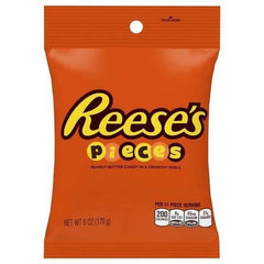 Reese's Pieces Peanut Butter Candy In A Crunchy Shell  170g
