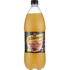 Schweppes Guava & Pear Mineral Water 1.25L