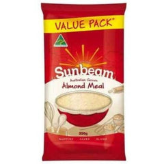 Sunbeam Almonds Meal Value Pack 350g