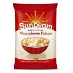 Sunbeam Macadamias Halves 110g
