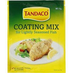 Tandaco Coating Mix For Lightly Seasoned Fish  75g