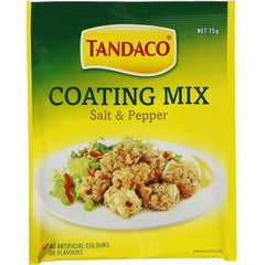 Tandaco Coating Mix Salt & Pepper  75g