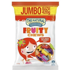 The Natural Confectionery Co Fruity Chews  420g bag