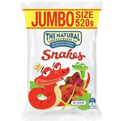 The Natural Confectionery Co Snakes  520g bag