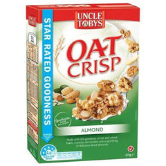 Uncle Tobys Almond Oat Crisp 415g