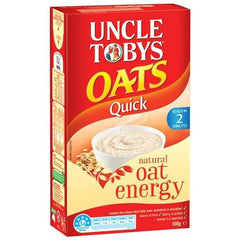 Uncle Tobys Quick Oats  500g