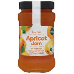 Woolworths Apricot Jam  500g