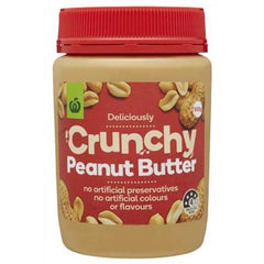 Woolworths Crunchy Peanut Butter 500g