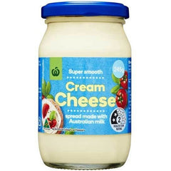 Woolworths Select Cream Cheese Spread 245g