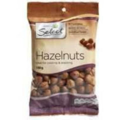 Woolworths Select Hazelnuts 150g