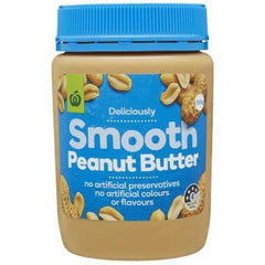 Woolworths Smooth Peanut Butter 500g