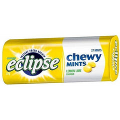 Wrigley's Eclipse Chewy Mints Lemon Lime 27g