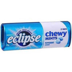 Wrigley's Eclipse Chewy Mints Peppermint 27g