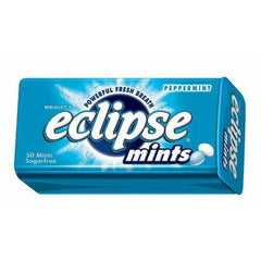 Wrigley's Eclipse Mints Peppermint  34g