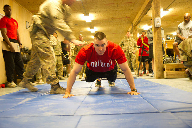 army pushup