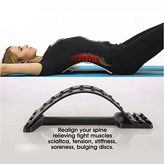 Multi-Level Back Stretcher and Massage
