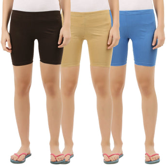 Womens Shorties (Pack of 3)