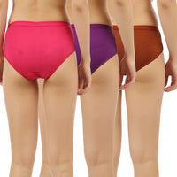 Womens Cotton Panties (Pack of 3) - TirupurFactorySale.com