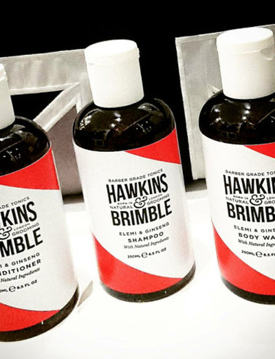 Hawkins and Brimble - Shampoo, Conditioner and Body Wash