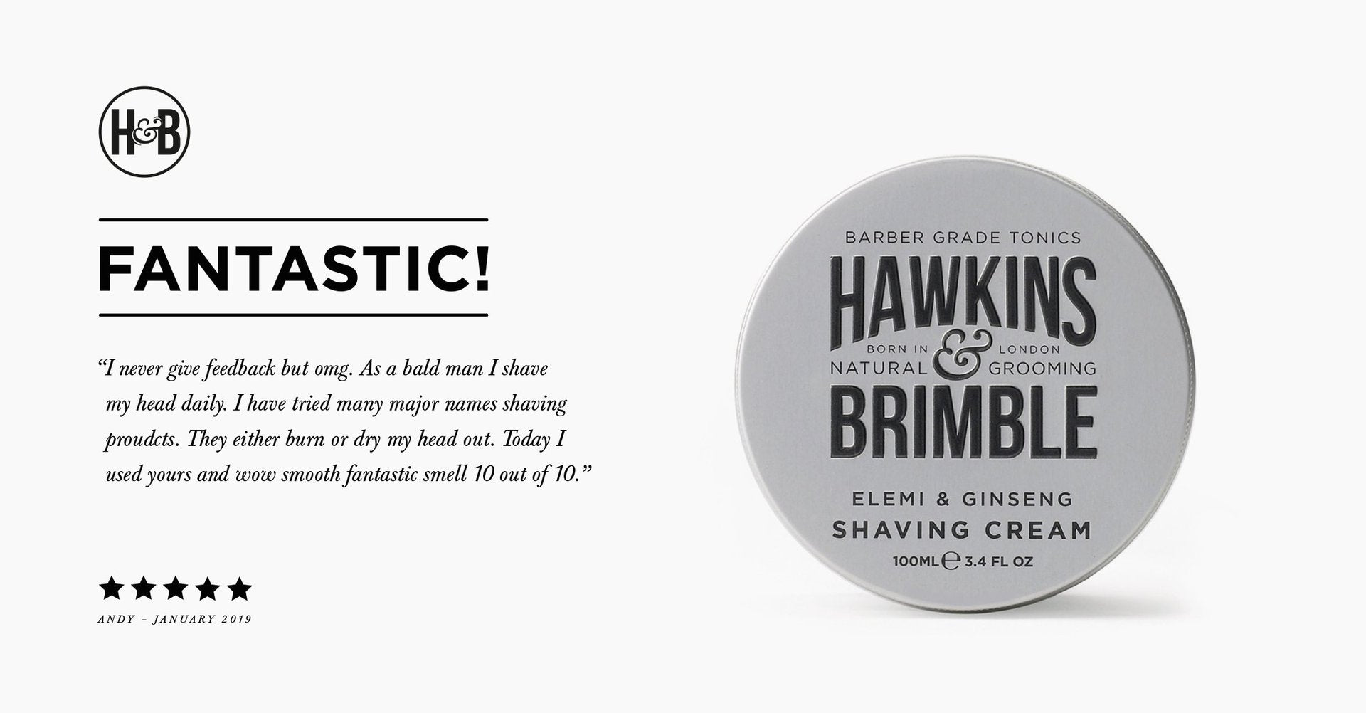 Hawkins and Brimble Mens Grooming Products London